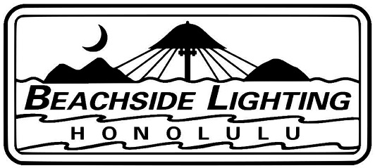 beachside lighting logo