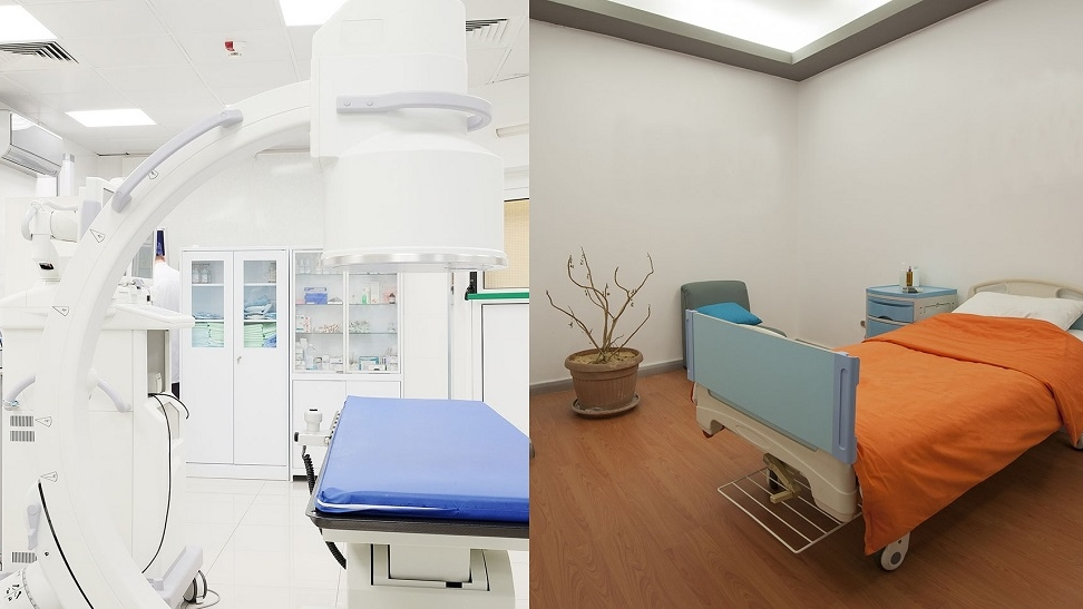 Customer healthcare and hospital lighting solutions