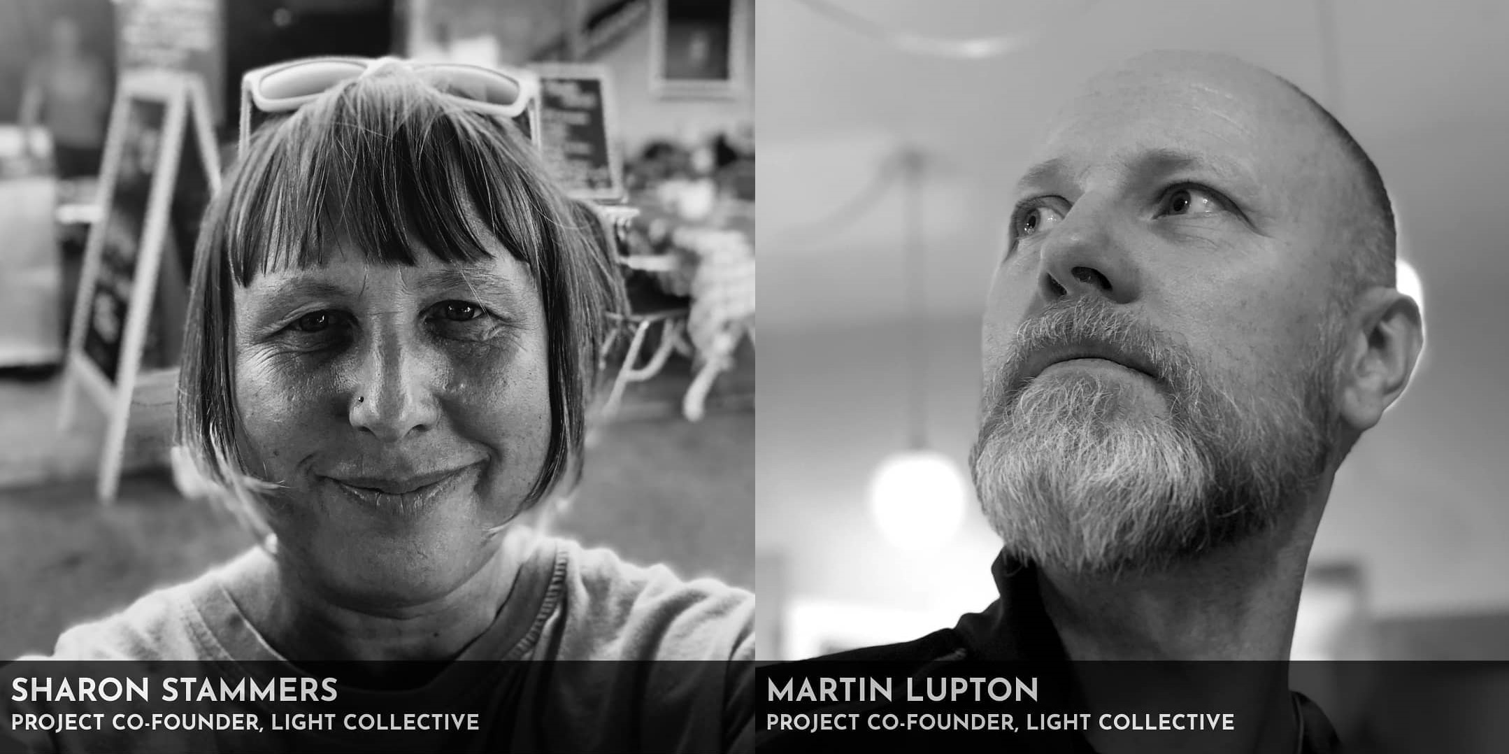 light colletive founders sharon and martin