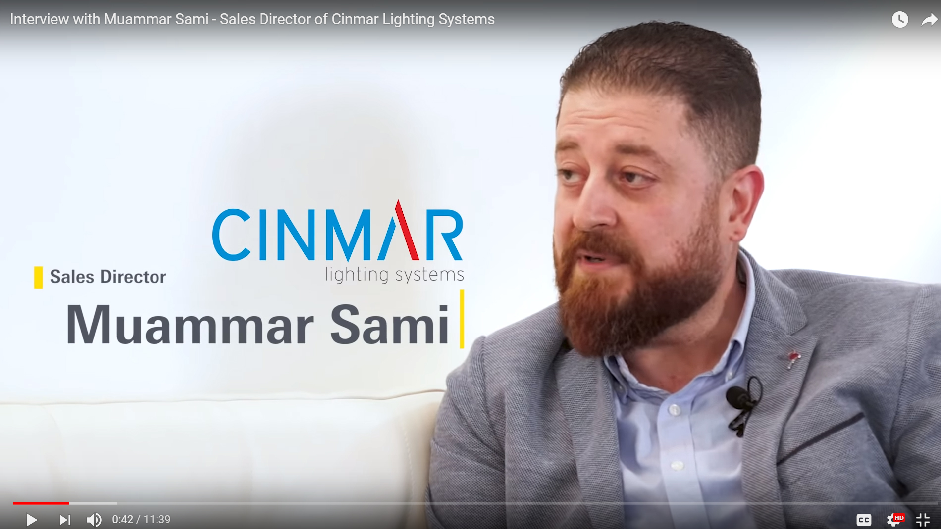 Interview with Muammar Sami, Cinmar